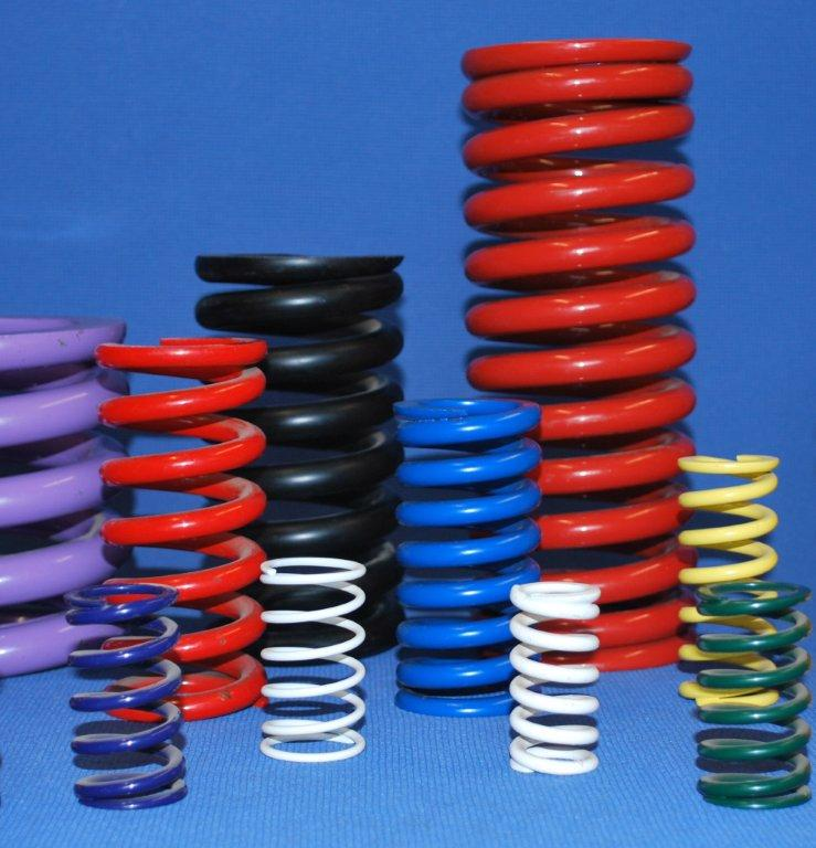 Painted Compression Spring Manufacturer